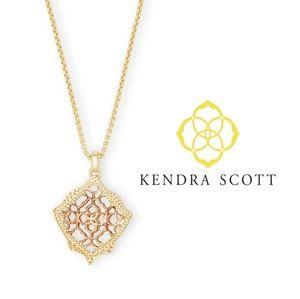 ■Kendra Scott■  Kacey Rose Gold Filigree Necklace